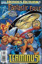 Fantastic Four (Vol.3) No.4 1998 Silver Surfer Chris Claremont Salvador Larroca