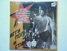 Iggy Pop & Stooges 45Tours vinyle Russia Melodia vinyle rouge disquaire day 2020