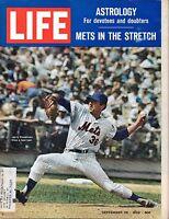 1969 (Sep.26) Life magazine, Baseball, Jerry Koosman, New York Mets ~ VG
