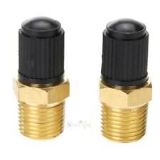 """2pcs 1/8"""" Brass Wheel Tire Tyre Air Compressor Tank Fill Valves for Dunlop Valve"""