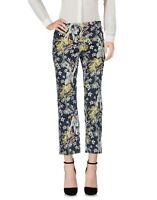 Pantaloni Donna PINKO Made in Italy I066 Gamba Dritta Multicolore Tg 40 42 44