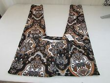 # Sexy Juniors Leggings BLACK/GOLDEN TONES FLORAL SIZE 1X/2X NEW WITH TAGS
