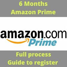 6 Months Amazon Student Prime Account Unlimited Prime Videos &Photo FREE POSTAGE