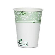 Dixie EcoSmart Hot Cups Paper w/PLA Lining Viridian 12oz 50/Pack 2342PLAPK