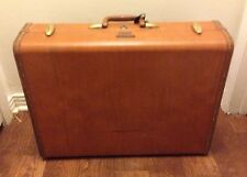 Vintage SAMSONITE SUITCASE / Train Case Overnight Bag Carry On Briefcase Luggage