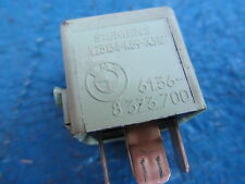 A RELAY # 61368373700 GREEN from E36 BMW 318 i SE SALOON 1997
