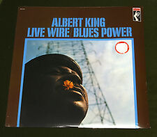 ALBERT KING LIVE WIRE BLUES POWER LP HEAVY VINYL Rare Stax Records Press SEALED