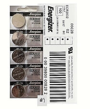 Energizer CR2032 Lithium Coin Cell 3V Fresh Date Code Battery, 25 PCs, Exp: 2027