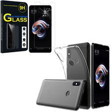 "Etui Coque Silicone Gel UltraSlim Xiaomi Redmi Note 5 Pro 5.99"" + Film Verre"