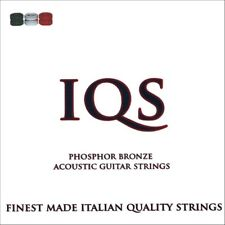 3 SETS IQS ACOUSTIC LIGHT 11-52 PHOSPHOR BRONZE TOP QUALITY ITALIAN STRINGS!!