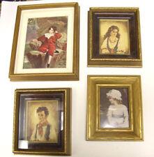 Vintage Framed Photographs (Set of 4)