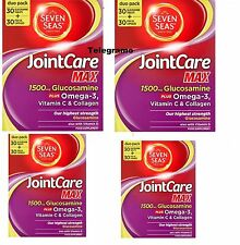 Brand New Seven Seas JointCare Max Duo 4 Pack