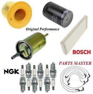 Tune Up Kit Filters Wire Spark Plug For FORD WINDSTAR V6 3.8L 2001-2003