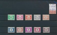 LO69505 Belgium 1945 numerals taxation stamps fine lot MH cv 37,5 EUR