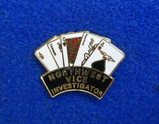 Pacific Northwest Vice Investigator Prostitution Hooker Gambling Unit Police Pin