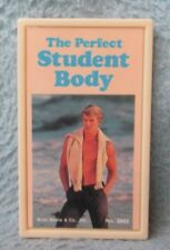 Sexy Young Man Pefect Student Body Humor Magnet Vintage 1980's Russ Magna Plaque