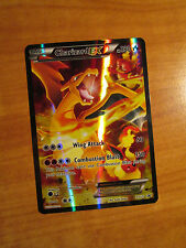 NM FULL ART Pokemon CHARIZARD EX Card BLACK STAR PROMO XY121 20th Anniversary
