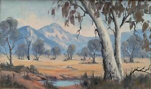 "Original Oil Painting by Norma Kett ""Grampians"""