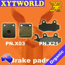 FRONT REAR Brake Pads KAWASAKI KLX 125 D-Tracker 2010 2011 2012 2013 2014