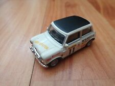 CORGI CARARAMA 1/72 CLASSIC 'MIGHTY MINIS' #11 MINI COOPER RALLY CAR MODEL