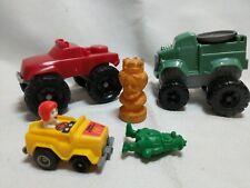 Lot of 5 Kids Meal Toys McDonalds, Burger King, Wendys, Fred Flintstone