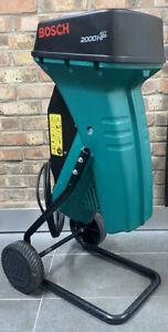 Bosch Garden Shredder, model AXT 2000HP