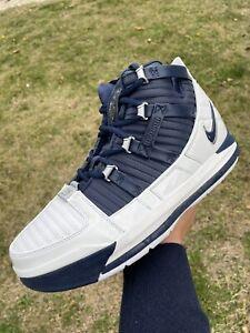 NEW Men's Nike Lebron 3 III Midnight Navy James Basketball AO2434-103 Size 9.5