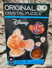 "Bepuzzled Original 3D Disney Crystal Puzzle ""NEMO"" Complete"