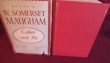 Cakes and Ale ~ W. Somerset MAUGHAM.  Heinemann  Collected Edition.  HbDj   1949