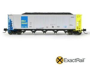 Exactrail CIT Group NRLX Johnstown Autoflood II Coal Car w/ Load EN-51755-11