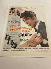 It's a Wonderful Life Full Page Colour Advertisement James Stewart