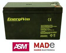 Batería de plomo AGM - 12V 9Ah - EnergiVm MVH1290 - UPS/SAI - Alto rendimiento
