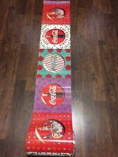 Coca Cola Christmas Store Advertising Display Banner 25 Feet