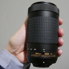 Nikon AF-P 70-300mm f/4.5-6.3G DX ED VR Lens (Bulk) Neu