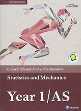 Edexcel AS and A level Mathematics Statistics & Mechanics Year 1/AS Textbook +