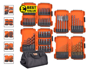 Vaunt 79 Piece Drill Accessory Set with Tool Bag