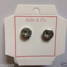 Earrings Silver Color Belle & Flo Stud