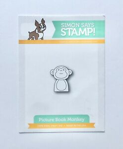 New! Simon Says Stamp Picture Book Monkey Die Set
