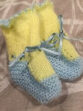 Hand Knitted Unisex Baby Socks