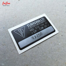 TURNWALD REAR LARGE WING SPOILER STICKER , PORSCHE 911 993 RS porsche repro