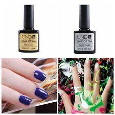 2pcs DIY Top coat + Base coat UV Gel Nail Polish Primer Nail Art Manicure Color