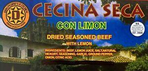 DRIED SEASONED BEEF WITH LEMON (CECINA SECA) #1 FRESH QUALITY FOOD DON PEDRO PED