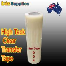 30cmx50m High Tack Clear Transfer Tape / Application Tape for Sign Vinyl Sticker