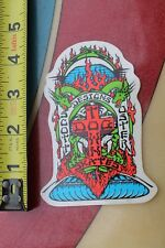 Dogtown Skateboards Original Scott Oster DTS Bulldog Art Skateboarding STICKER