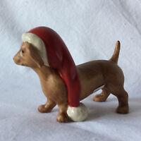 Goebel Dackel mit Weihnachtsmütze 66702581