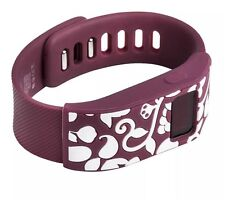 French Bull Fitbit Charge HR Band Cover Slim Design Sleeve Protector Burgundy