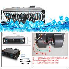 30W Underdash AC Evaporator DC 12V Heat & Cool Air Conditioner Compressor Kit