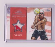 RARE 2012 TOPPS OLYMPIC TODD ROGERS SILVER RELIC CARD ~ 09/50 ~ BEACH VOLLEYBALL