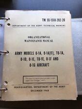 AIRCRAFT ORGANIZATION MAINTENANCE MANUAL O-1A -1E -1F -1G ARMY CESSNA 305A