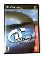Gran Turismo 3 A-spec (PlayStation 2 PS2, 2006) CIB Racing Game 9 /10 Excellent